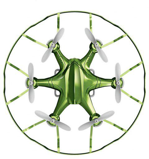 Attop A6 Mini RC Drone Aircraft Children Toy - GREEN