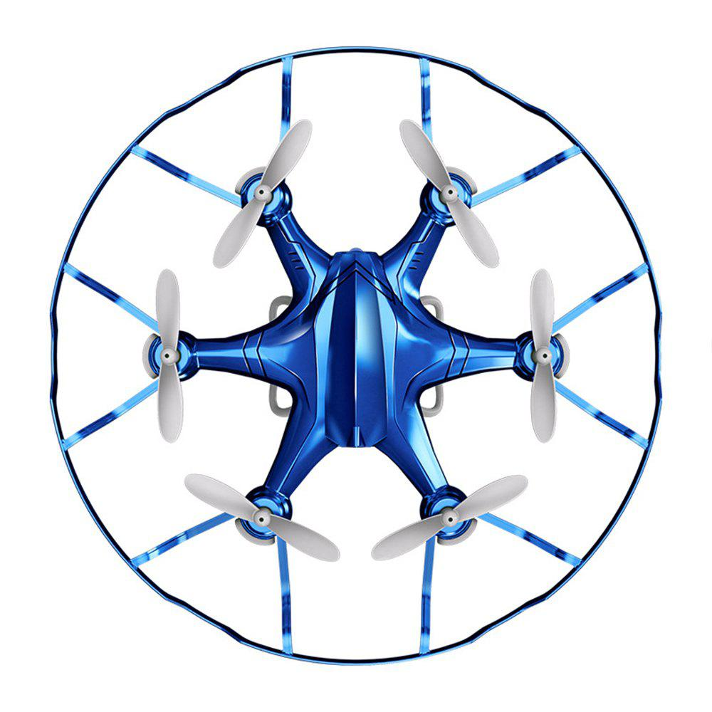 Attop A6 Mini RC Drone Aircraft Children Toy - BLUE