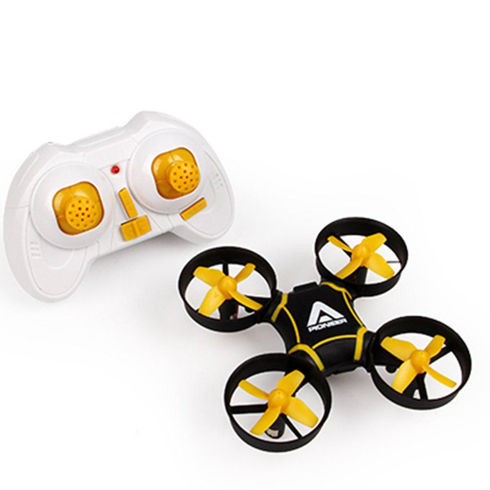 Attop A11 RC Drone with Headless Mode / 6-axis Gyroscope /  360 Degree Flip - YELLOW