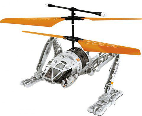 Attop IDR902 RC Helicopter with High Power Moter / 6 - axis Gyroscope / Buffer Taxiing Wheel - GRAY