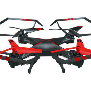 Attop A25 Remote Control Aircraft / RC Drone RTF with Headless Mode / 360 Degree Flip / 6-axis Gyroscope - RED