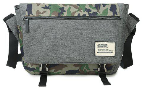 Men's Trend Camouflage Crossbody Bag - CAMOUFLAGE