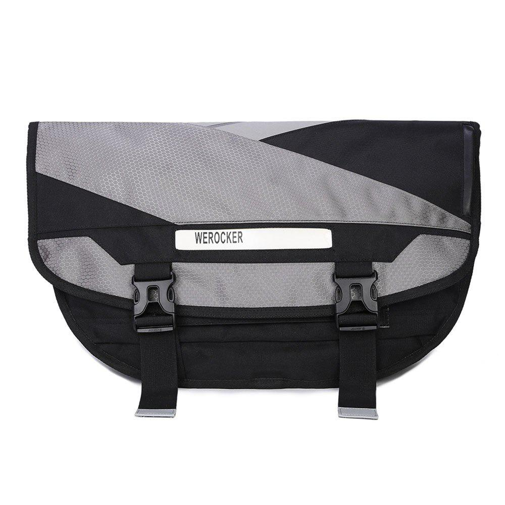 Men's Trend Luminous Color Cross Crossbody Bag - GRAY