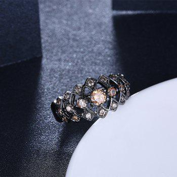 More Hollow Diamond Fashion Lady Ring - DAISY 7
