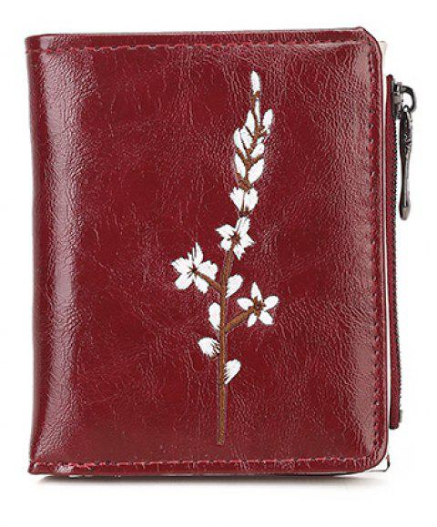 Ladies New Hand Simple Porte-monnaie - Rouge