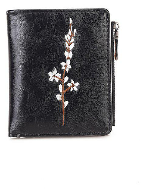 Ladies New Hand Simple Porte-monnaie - Noir