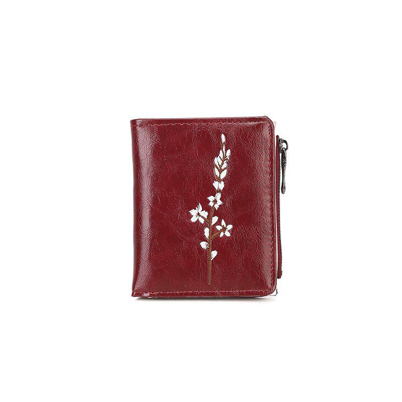 Ladies New Hand Simple Purse - RED