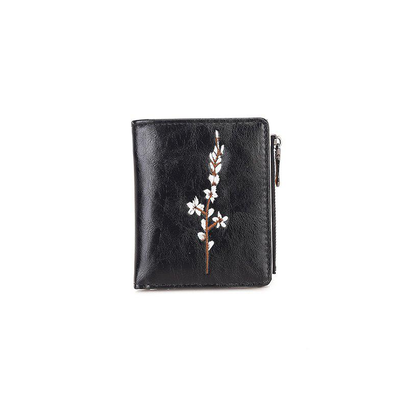 Ladies New Hand Simple Purse - BLACK