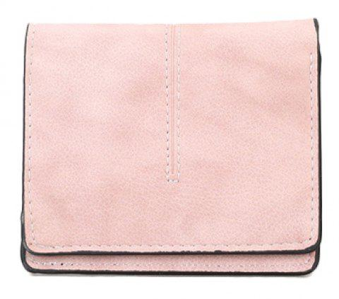 New Women's Casual Short Wallet - PINK