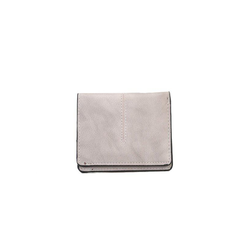 New Women's Casual Short Wallet - WHITE