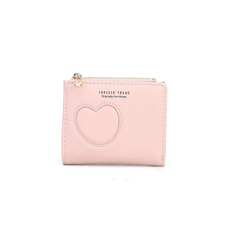 New Women's Hollow Simple Wallet - PINK