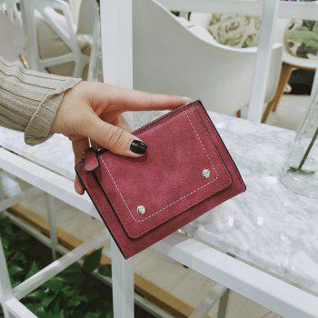 The New Female Short Mini Purse Personality - RED