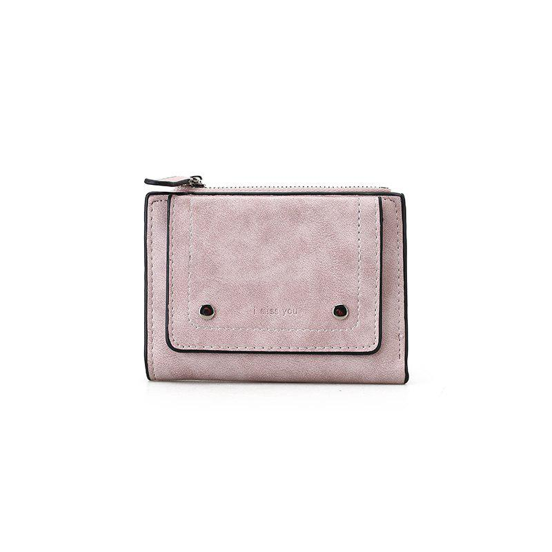 The New Female Short Mini Purse Personality - PINK