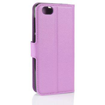 PU Leather Flip-Open Full Body Case Cover for ZTE Blade A6 Lite - PURPLE