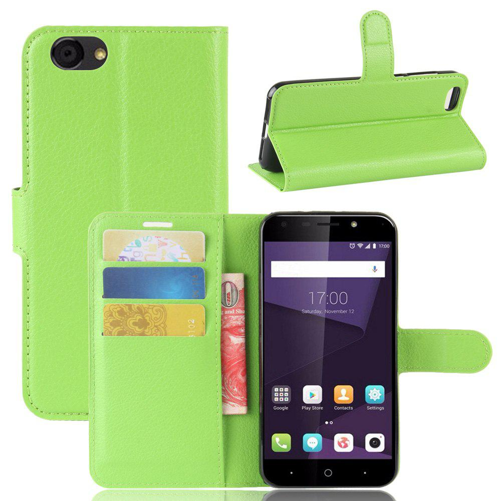 PU Leather Flip-Open Full Body Case Cover for ZTE Blade A6 Lite - IVY