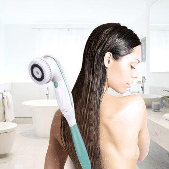 TOUCHBeauty TB-07599 Facial Cleansing and Body Brush 2 in 1 Face and Shower Back - LIGHTGREEN