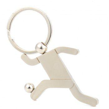 Personnalité créative Football Key Ring Jewelry - Argent