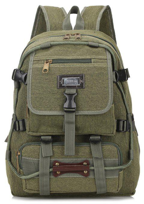 Men's Large-capacity Outdoor Mountaineering Bag Multi-functional Camping Bags - ARMYGREEN