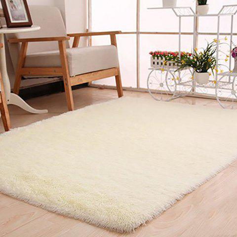 DIHE  Gloria Footcloth Door Mat Yoga Round Supple - OFF WHITE