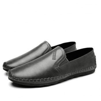 Casual Simple Style Formal Shoes For Men - GRAY 43