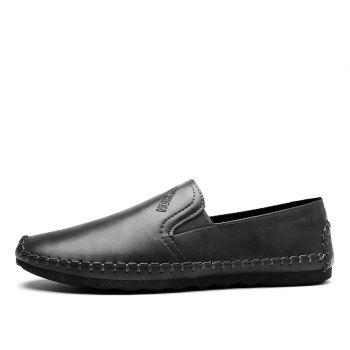 Casual Simple Style Formal Shoes For Men - GRAY 44