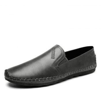 Casual Simple Style Formal Shoes For Men - GRAY 40