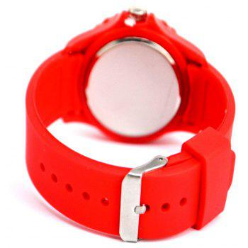 Swiss National Flag Watch - RED