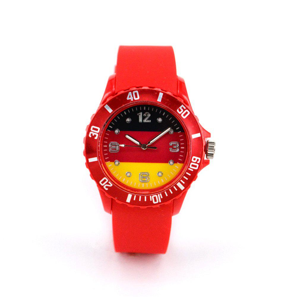 Germany National Flag Watch for The World Cup - RED