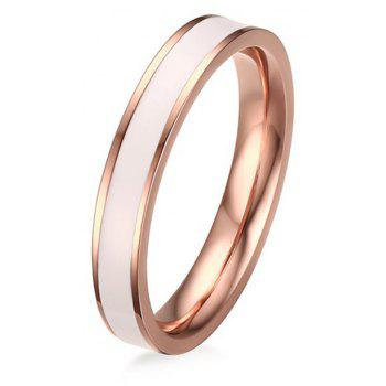 New 18K Rose Gold Fashion Black and