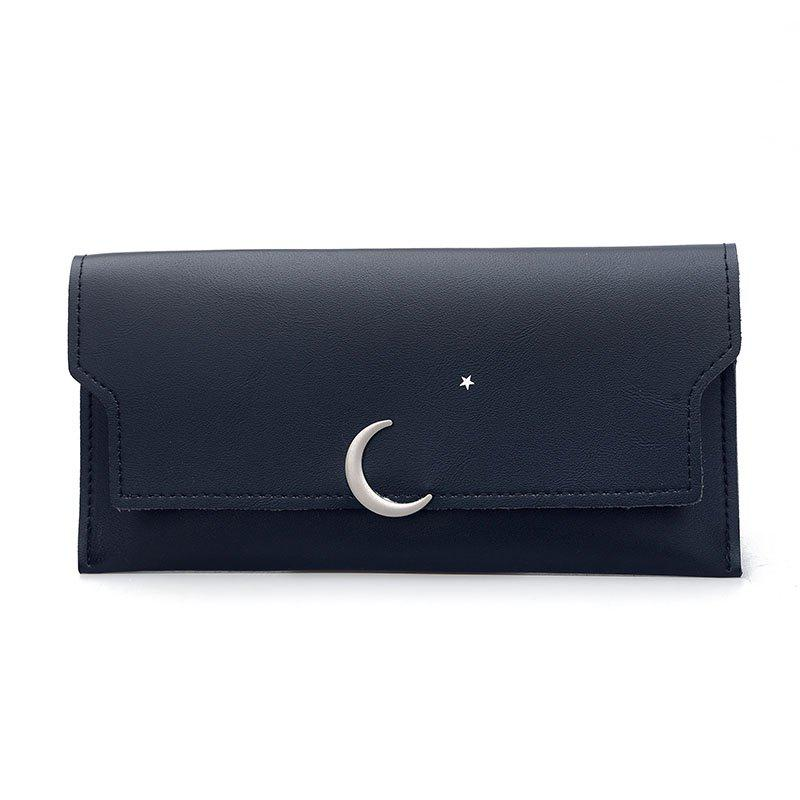 Long Personality Fresh Purse - BLACK