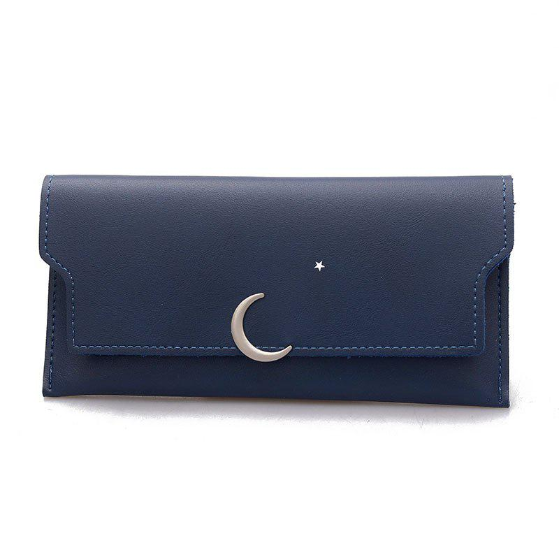 Long Personality Fresh Purse - BLUE