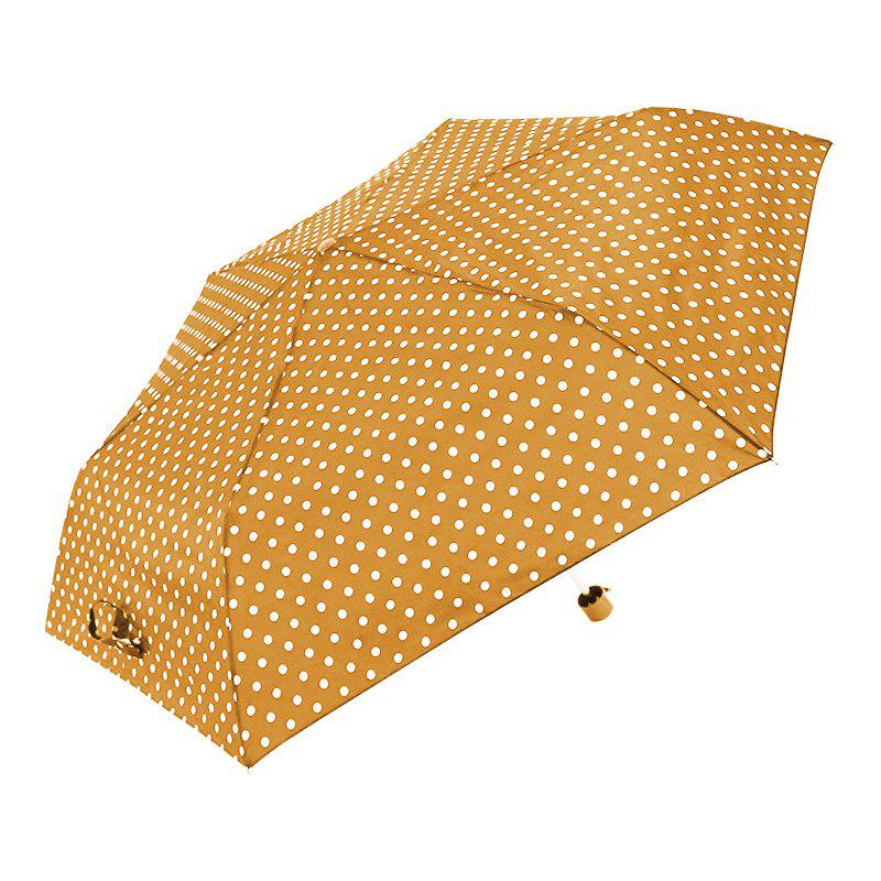Umbrella Windproof Lightweight Fast Dry Ladies Umbrella - YELLOW