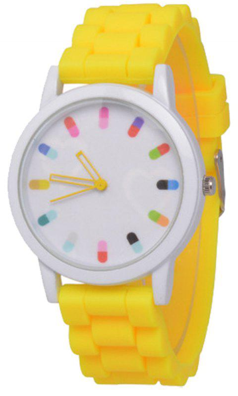 Cooho Classic Silicone Women Casual Watch - CITRUS