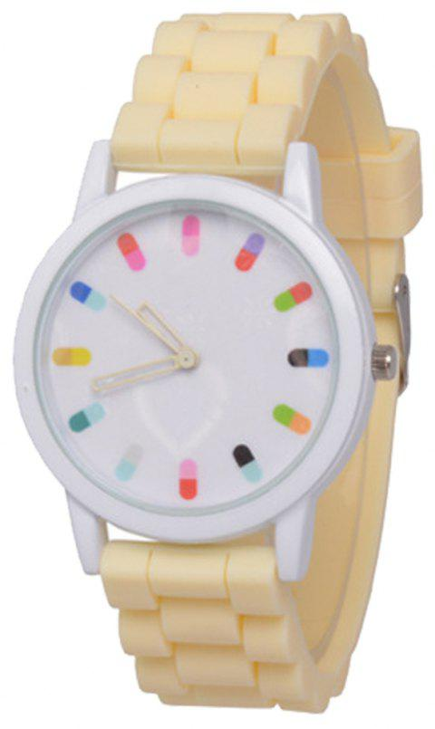 Cooho Classic Silicone Women Casual Watch - PALOMINO
