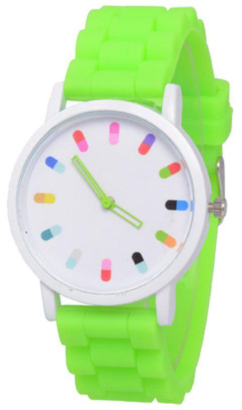 Cooho Classic Silicone Women Casual Watch - MOSS