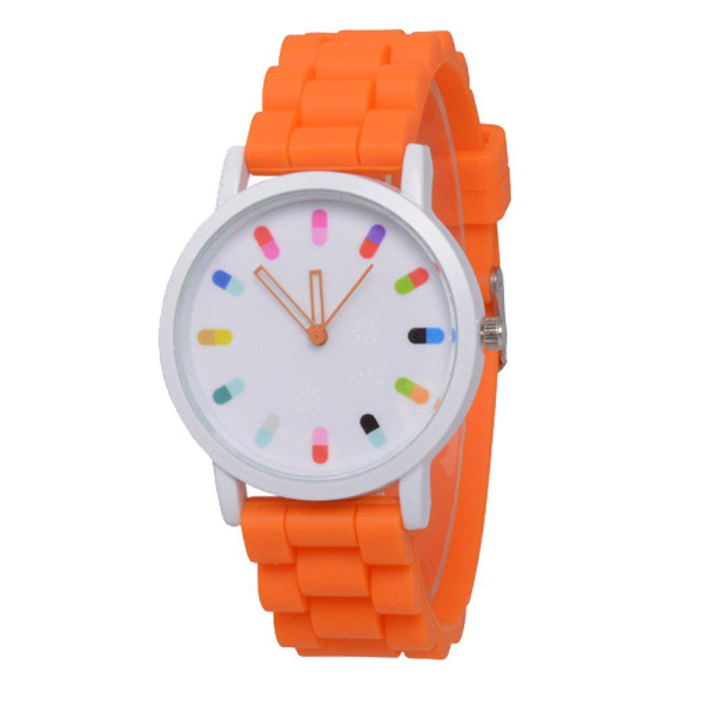Cooho Classic Silicone Women Casual Watch - MANDARIN