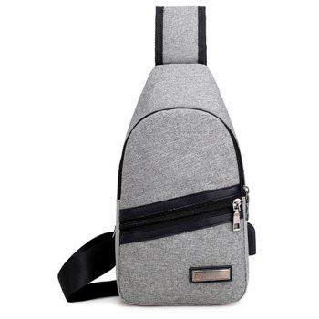 Business Casual Chest Pack for Men  Shoulder