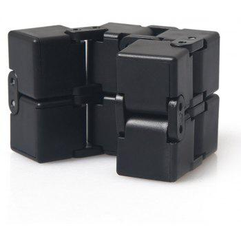 Infinity Magic Cube Intellect Decompression Toy - BLACK