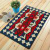 Tapis de sol Vintage Motif Floral Vivid Unique Home Decor Mat - multicolore 50X80CM
