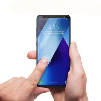2PCS Screen Protector for Samsung Galaxy A5 2018 High Sensitivit HD Full Coverage High Clear Premium Tempered Glass - TRANSPARENT