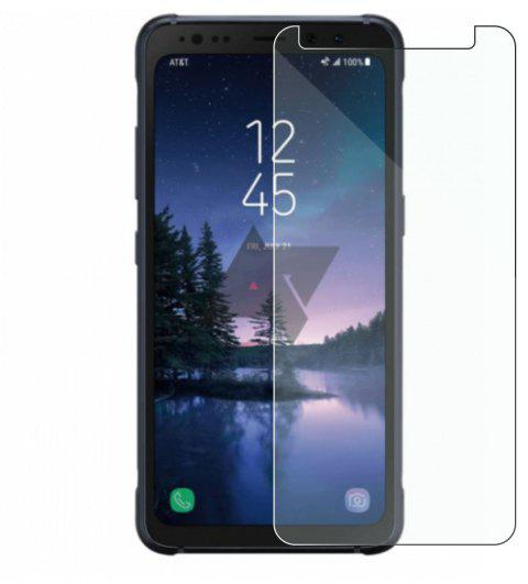2PCS Screen Protector for Samsung Galaxy A7 2018 High Sensitivit HD Full Coverage High Clear Premium Tempered Glass - TRANSPARENT