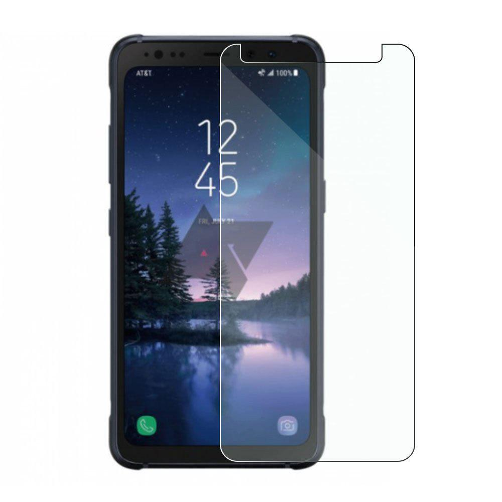 Screen Protector for Samsung Galaxy A7 2018 High Sensitivit HD Full Coverage High Clear Premium Tempered Glass - TRANSPARENT
