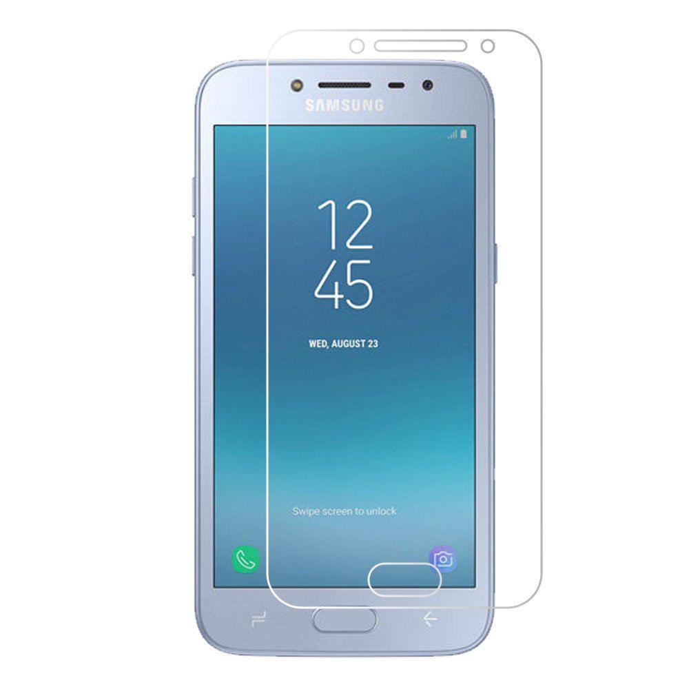 2PCS Screen Protector for Samsung Galaxy J2 PRO 2018 High Sensitivit HD Full Coverage High Clear Premium Tempered Glass - TRANSPARENT