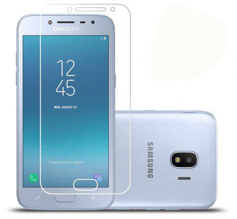 Screen Protector for Samsung Galaxy J2 PRO 2018 High Sensitivit HD Full Coverage High Clear Premium Tempered Glass - TRANSPARENT