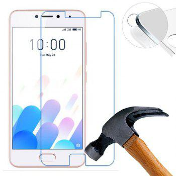 Screen Protector for Meizu Meilan 5C High Sensitivit HD Full Coverage High Clear Premium Tempered Glass - TRANSPARENT