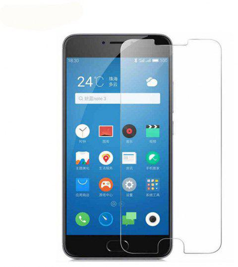 2PCS Screen Protector for Meizu Meilan Note3 High Sensitivit HD Full Coverage High Clear Premium Tempered Glass - TRANSPARENT