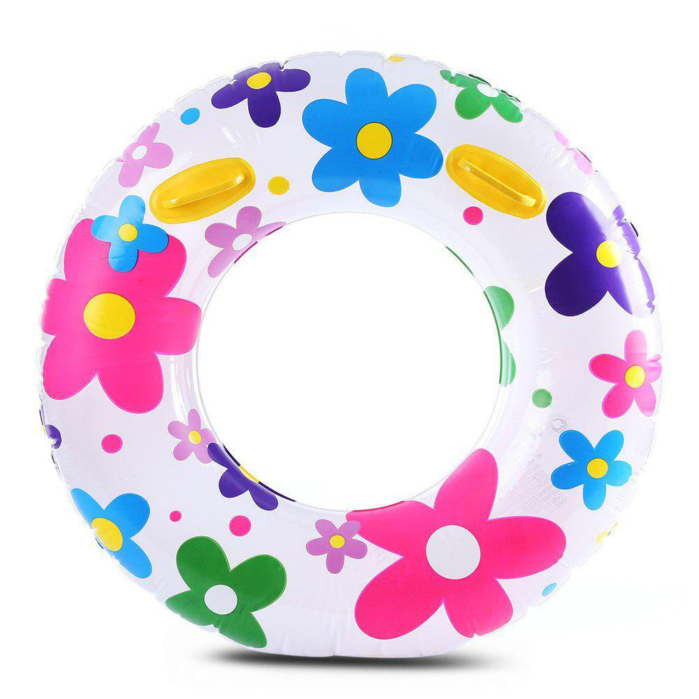 Fashion Flowers Adult Swim Ring - COLORFUL