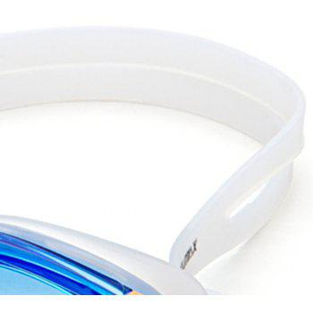 Large Frame Adult Swimming Goggles - BLUE