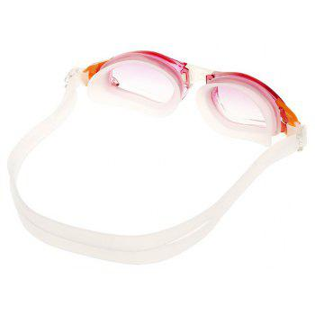 Adult Large Frame Swimming Goggles - RED