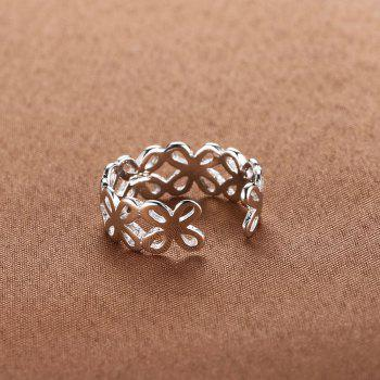 925 Silver Ring 0234 Gift Jewelry - SILVER ONE-SIZE
